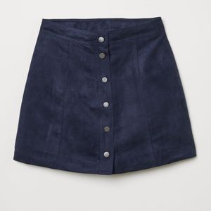 No Tags, but new Express Suede Mini Skirt